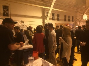 MikeD Serves beer at Winter Brewfest 2014